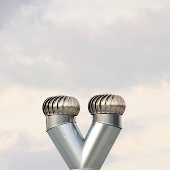«металлическая система вентиляции»
