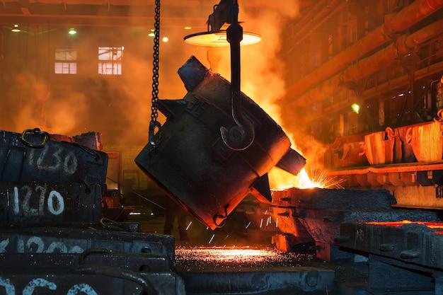 Металлургический завод литье чугуна