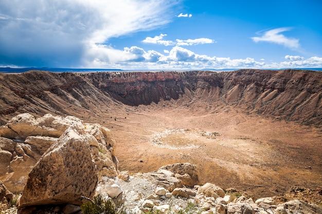 Meteor crater arizona usa
