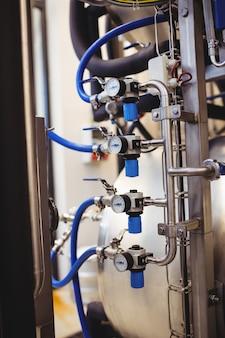 機械のパイプラインのメーターゲージ