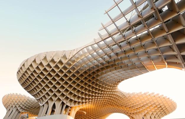 Metropol parasol, modern architecture in sevilla
