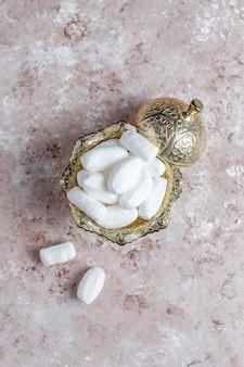 Mevlana 설탕, 터키 특정 백설탕 사탕, 평면도