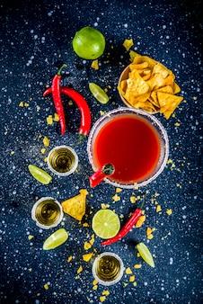 Mexican cocktail for cinco de mayo