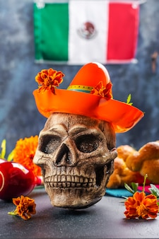 Mexican day of the dead decoration