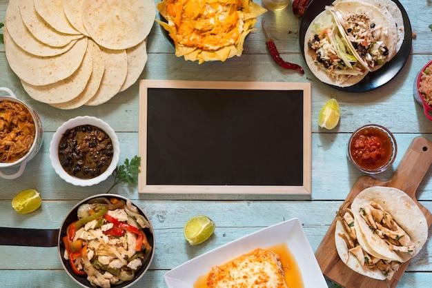 Мексиканская еда доска
