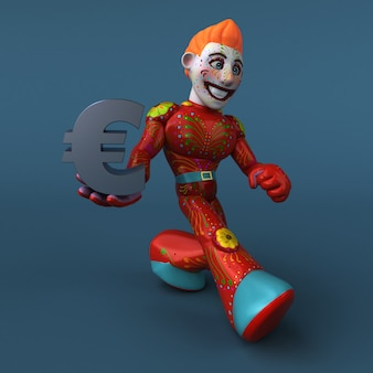 Mexican hero - 3d character