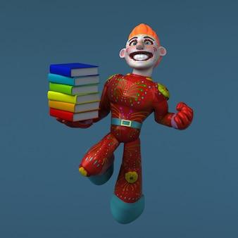Мексиканский герой 3d иллюстрации