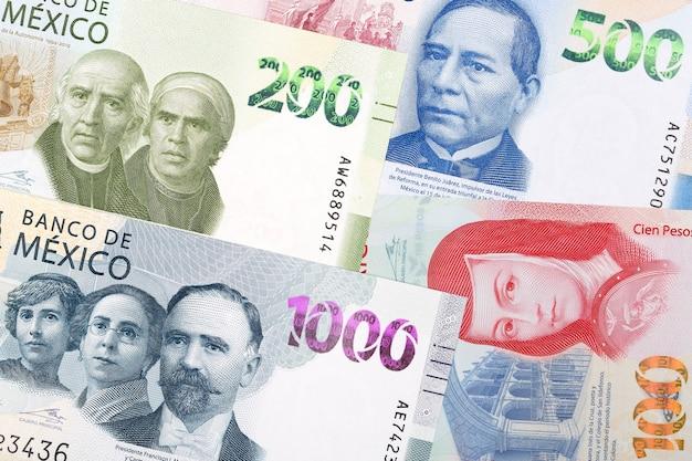 멕시코 페소 새로운 일련의 지폐