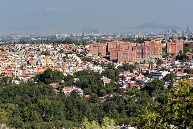 メキシコシティのパノラマビュー