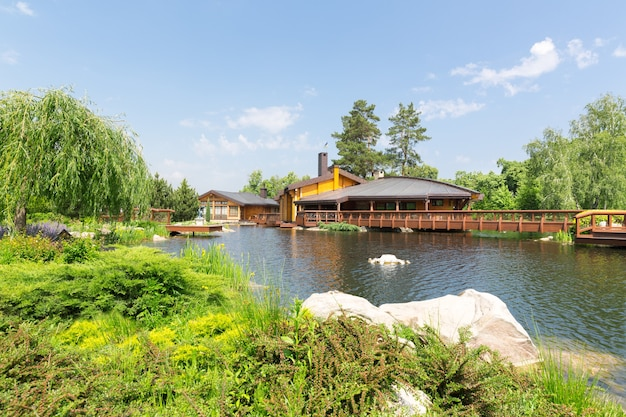 Mezhigirya residence of yanukovich