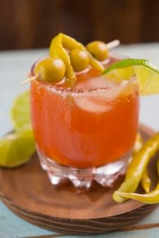 Michelada, cocktail mexican