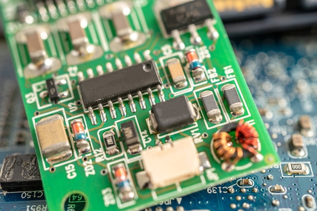 Micro circuit main board computer electronic technology hardware
