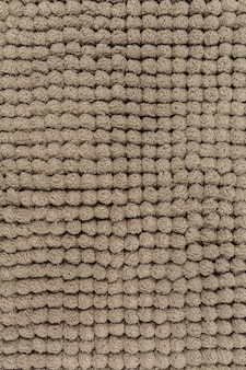 Microfiber background or brown bathmat background