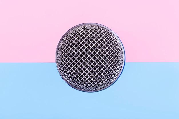 Фон микрофона