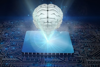 Microprocessor with brain