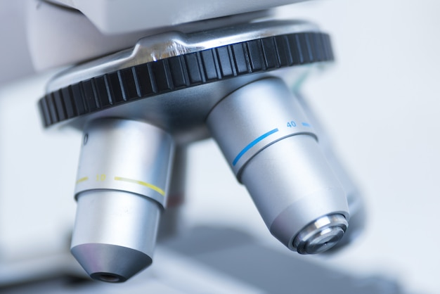 Microscope close-up photo