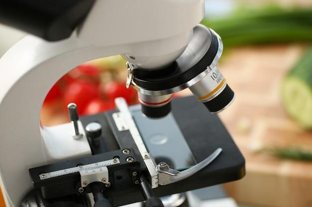 Microscope on kitchen