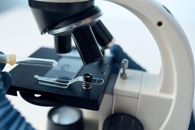 현미경 연구 생명 공학 의학 과학
