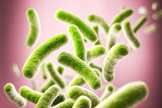 미세한 세균과 병원체