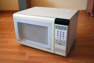 Microwave, food