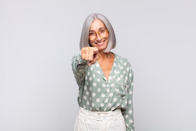 Middle age pretty woman