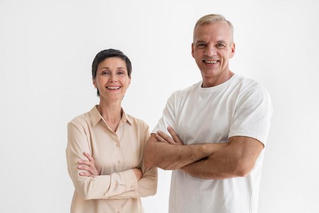 Портрет пары среднего возраста