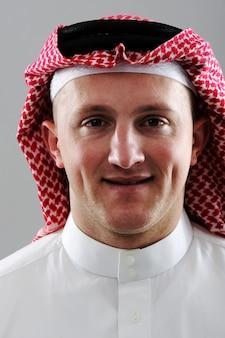Middle eastern man portrait