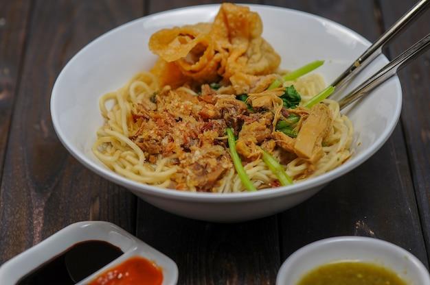 Мие аям баксо деликатес традиционные блюда