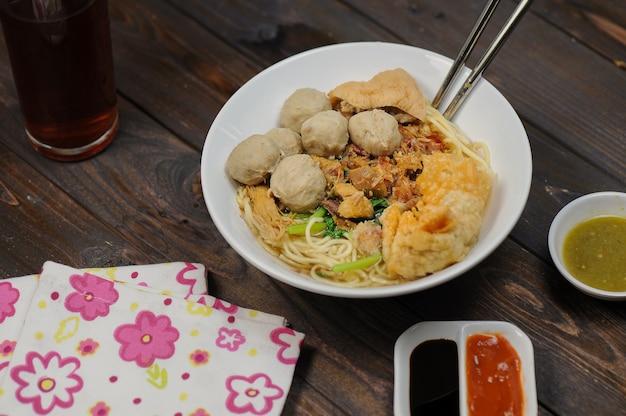Мие аям баксо традиционные блюда индонезии
