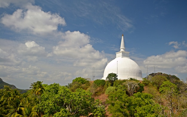 Mihintale holy site in sri lanka, near anuradhapura