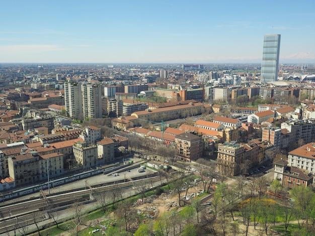Милан с высоты птичьего полета