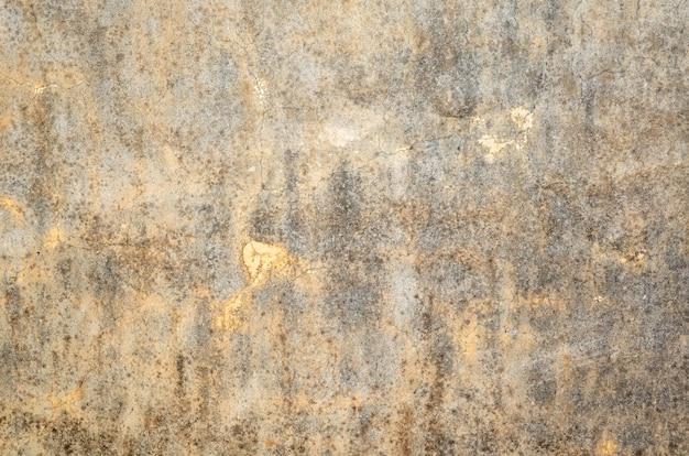 Mildewed 벽 배경, 더러운 시멘트 벽의 그런 지 질감