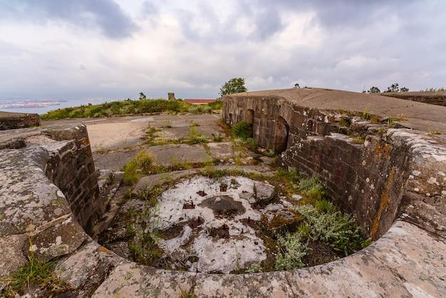 아레스 갈리시아 스페인의 바일라도라 포대 유적
