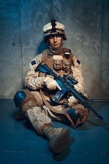 Military soldier us army marines operator