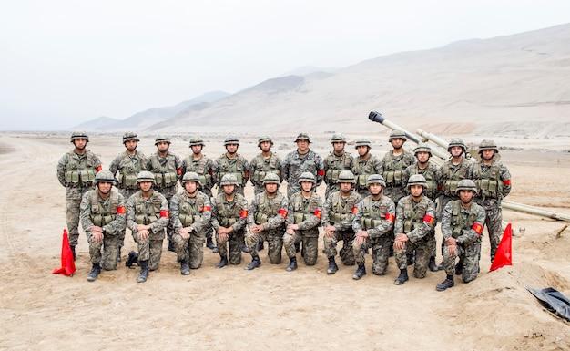 Военный отряд
