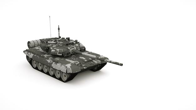 Военный танк, камуфляжная машина, армейский танк.