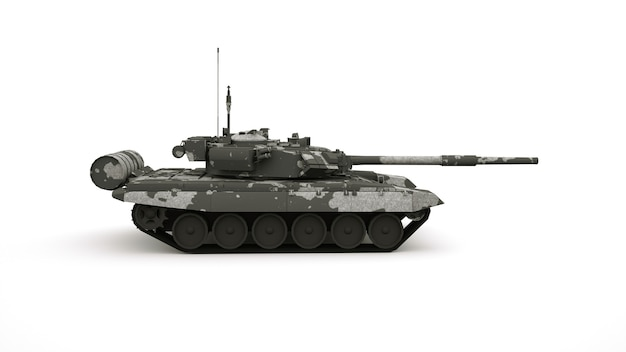 Военная машина, маскировочный танк.