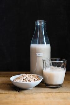 Milk and cereals