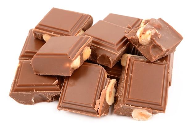 Молочный шоколад с фундуком