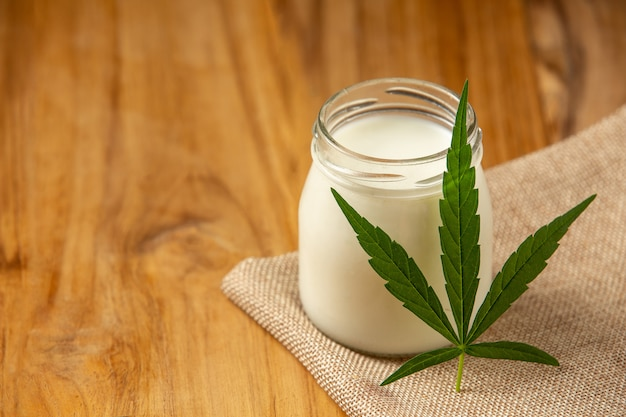 Milk and hemp the concept of cannabis use in the food industry