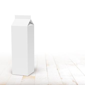 Milk or juice carton packaging box