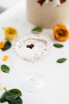 ミルクセーキカクテル飲料レシピ
