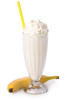 Молочный коктейль на столе