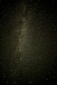 Milky way in a beautiful crystal clean sky