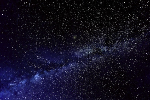 Галактика млечный путь со звездами