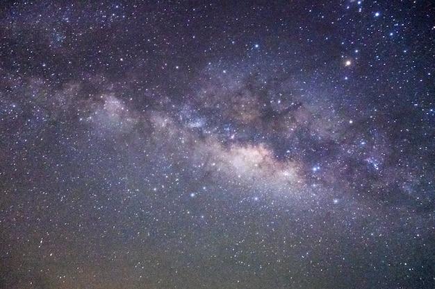 Milky way on the night