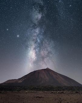테이 데 위의 은하수, 테 네리 페, 카나리아 제도
