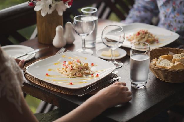 Millionaire salad in mauritius