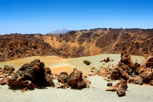 Minas de san jose in teide national park