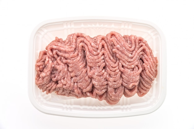Minced meat for burgers
